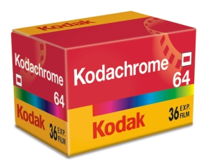 35mm Kodakchrome 64 – the last ISO/size of Kodachrome film – available while supplies last.